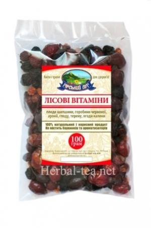 Лісові вітаміни 100г.