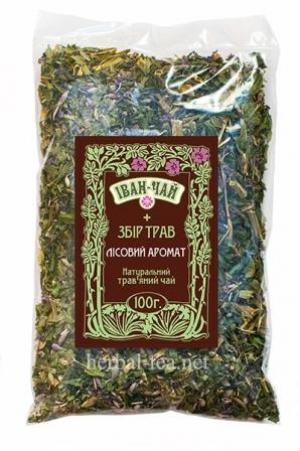 """Іван-чай + збір трав """"Лісовий аромат"""""""