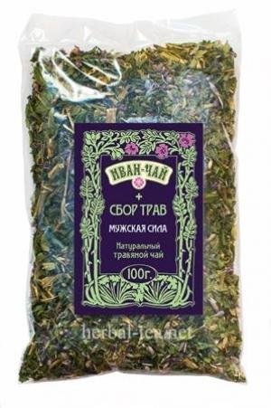 Иван-чай + сбор трав (мужская сила)