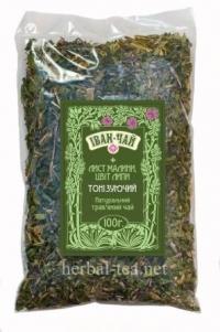 Іван-чай + лист малини, цвіт липи (тонізуючий)